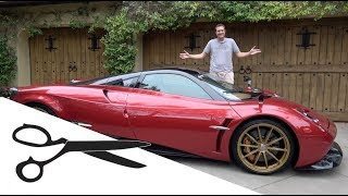 Here's Everything I Cut From My Pagani Huayra Review