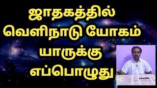 வெளிநாடு யோகம் | Astrology | Velinadu yogam