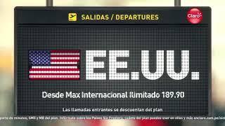 Claro Max Internacional No Pagues Roaming Con Anna Carina (Peru 2018)