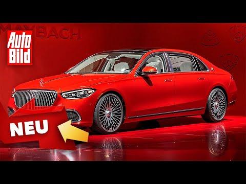 Mercedes-Maybach S-Klasse (2021): Trailer - Luxuslimousine - neu