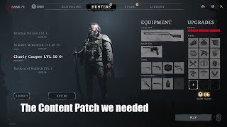 Hunt : Showdown - The Content Patch we needed!
