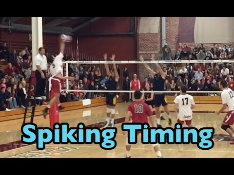 how to spike a volley part…
