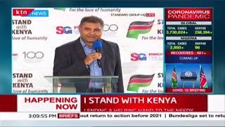 I STAND WITH KENYA: Standard Group PLC lending a helping hand to the needy