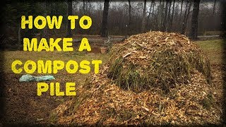 Step #1 How To Build A Compost Pile (18 Day Hot Composting Method)