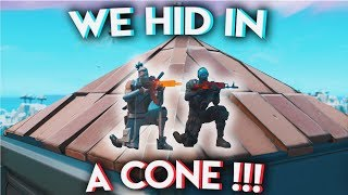 WE HID IN A CONE ??? | Stream Highlights