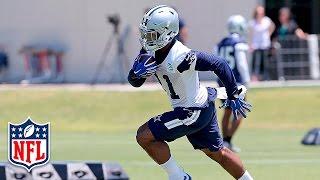 "Ezekiel Elliott At Cowboys Mini-Camp: ""You Have To Represent That Star"" | NFL"