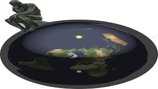 The Real   Flat Earth  Globe Did Hell Just Froze Over???