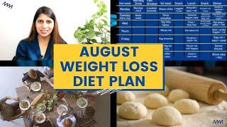 2 Weeks August Weight Loss Diet Plan | Meal Plan Intermittent Fasting Challenge | High Protein Diet