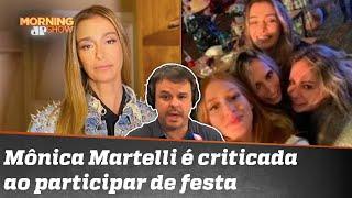 Adrilles: Amiga de Paulo Gustavo flagrada em festa é hipócrita