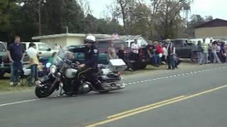 Police Motorcycles In Pitkin Parade