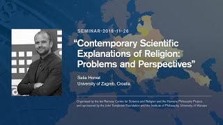 """Saša Horvat, """"Contemporary Scientific Explanations of Religion"""""""