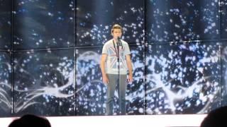 ESCKAZ in Copenhagen: Aram Mp3 (Armenia) - Not Alone (dress-rehearsal final)