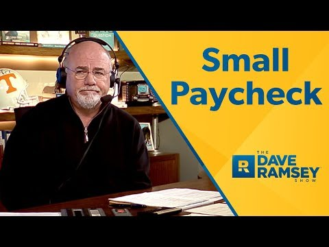 Are You Getting a Small Paycheck? - Dave Ramsey Rant