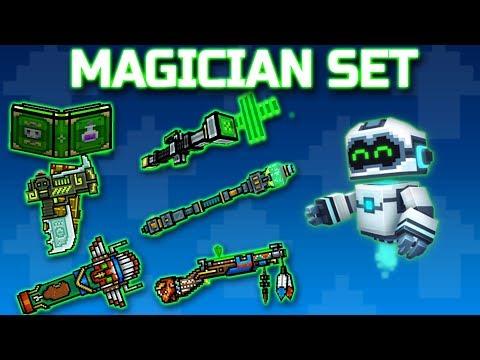 MAGICIAN SET : Pixel Gun 3D [Gameplay]
