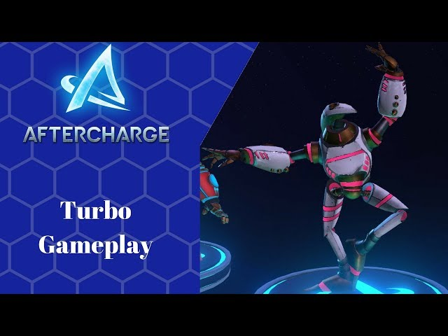 Aftercharge Open Alpha Test (Turbo Gameplay)