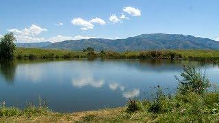 Мёртвое озеро в Алматинской области