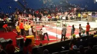 preview picture of video 'FRC Team 5135 Recycle Rush 2015 Israel Regional 2'