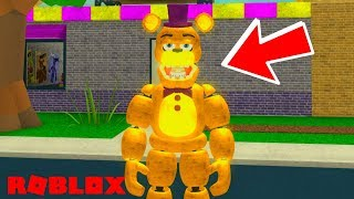 *MUST PLAY!* Awesome New Roblox FNAF Game! Roblox Fredbear and Friends Pizzeria RP
