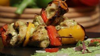 Wasabi Chicken Tikka   Cooking Classy with Chef Afraz   Sanjeev Kapoor Khazana