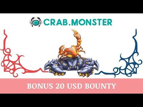 Crab Monster (crab.monster) отзывы 2019, обзор, mmgp, Бонус 20$ BOUNTY