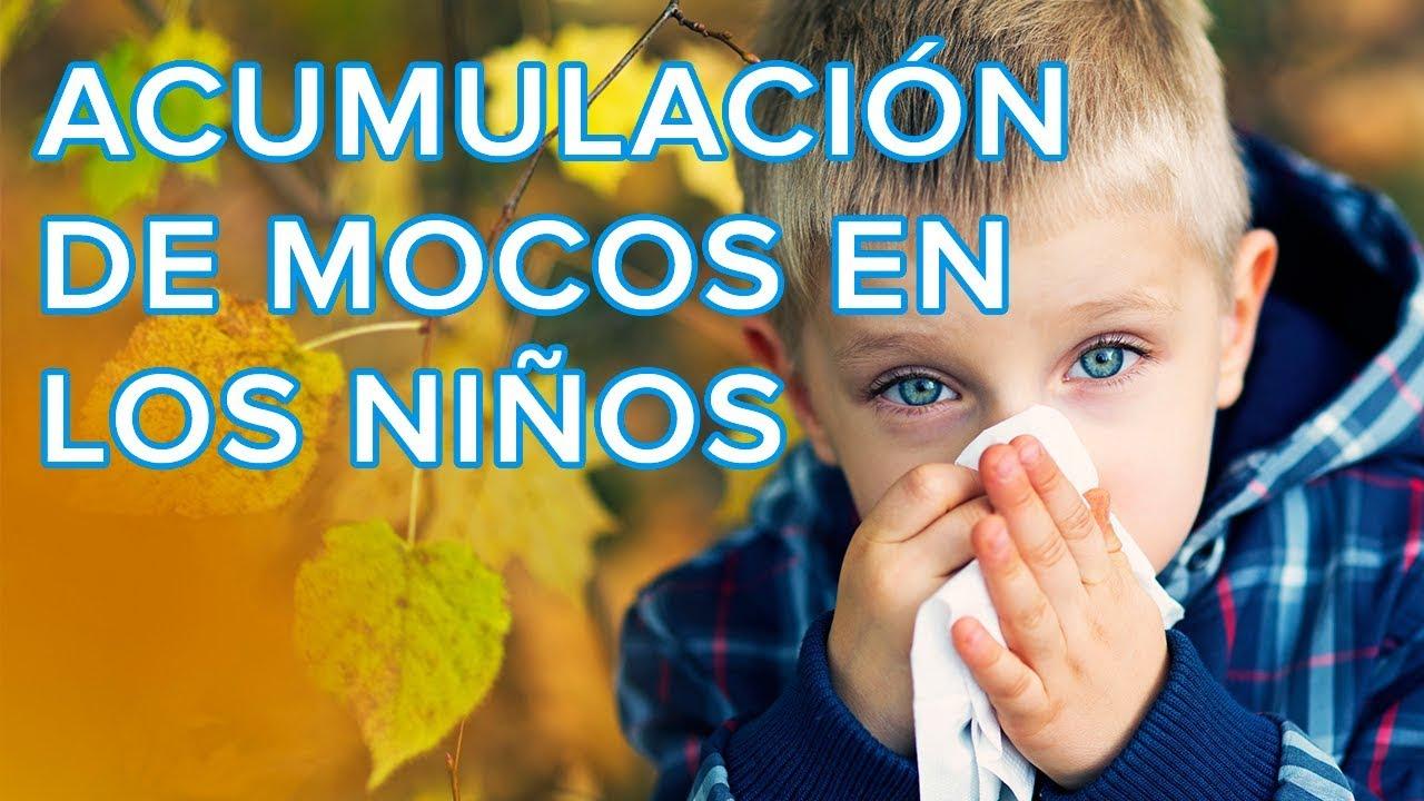 Cómo afecta la acumulación de mocos en la salud de los niños