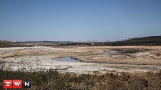 Department of Water and Sanitation drill boreholes at Theewaterskloof dam