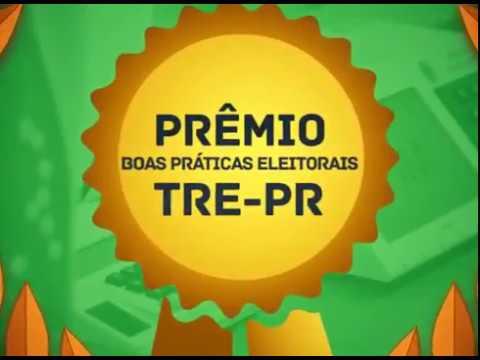 TRE-PR Vídeo Prêmio Boas Práticas Eleitorais