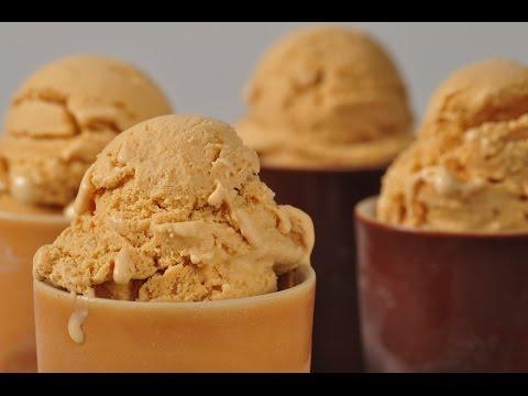 Dulce de Leche Frozen Yogurt Recipe Demonstration – Joyofbaking.com