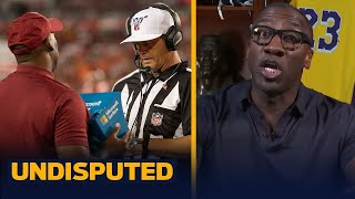 NFL pass interference replay system last year was egregious and rushed — Shannon | NFL | UNDISPUTED