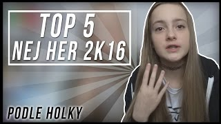 TOP 5 PC HER 2K16 PODLE HOLKY! - Geek girl #1