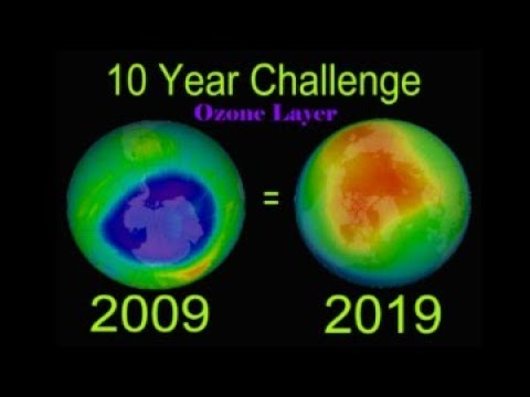 10 Year Challenge  [Ozone Layer After 10 Years]