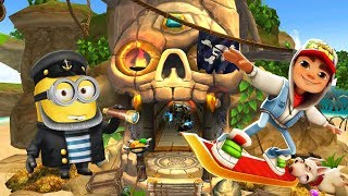 Despicable Me 2 Minion Rush Temple Run 2 Pirate Cove Subway Surfers World Tour 2018 Berlin