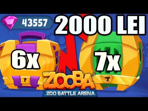 DESCHID CELE MAI BUNE CUTII IN VALOARE DE 2000 LEI! Zooba