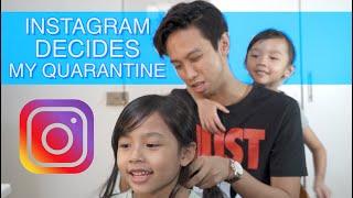 Instagram Decides My Quarantine
