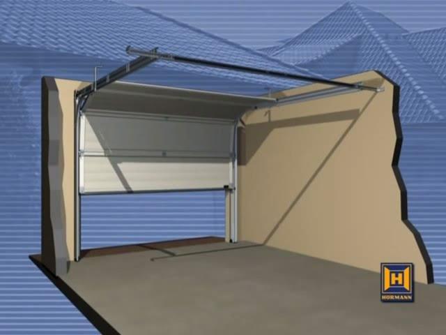 h rmann sektionaltor 2375 x 2125 mm mit oder ohne antrieb. Black Bedroom Furniture Sets. Home Design Ideas