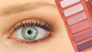TRY ON: Urban Decay Naked Petite Heat Palette First Impressions