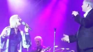 John Farnham & Olivia Newton - John Hearts On Fire Live WA 2015