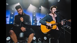 Shawn Mendes And Khalid   Youth (live)