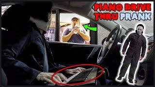 Michael Myers Plays Piano in Drive Thru Prank!!