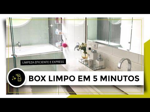 Limpar o box do banheiro