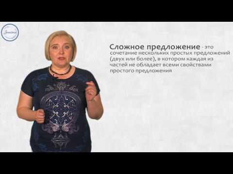 Понятие о сложном предложении как единице синтаксиса