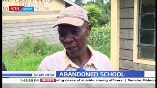 Residents of Mwea East want the ministry of Educ to explain why the constructed school was abandoned