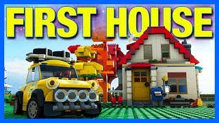Forza Horizon 4 LEGO Let's Play : BUILDING OUR HOUSE!! (Part 1)