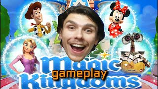 GAMEPLAY - DISNEY MAGIC KINGDOMS DUBLADO BY PETER TOYS