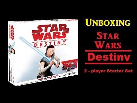 Unboxing Star Wars Destiny 2 - Player Starter Set