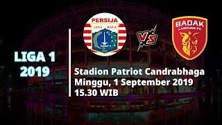 VIDEO: Live Streaming Liga 1 Persija Jakarta Vs Badak Lampung FC Minggu (1/9) Pukul 15.30 WIB