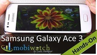Samsung Galaxy Ace 3 Hands-on-Video: LTE-Ass für 230 Euro - Test