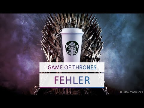 Der Kaffeebecher und andere Filmfehler in Game of Thrones