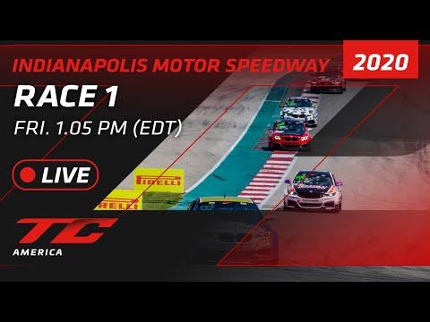 2020年 ブランパンGTワールドチャレンジ・アメリカ(インディアナポリス)TCR / TC / TCA レース1ライブ配信動画