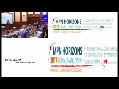 Daily living with an MPN -MPN Horizons 2017